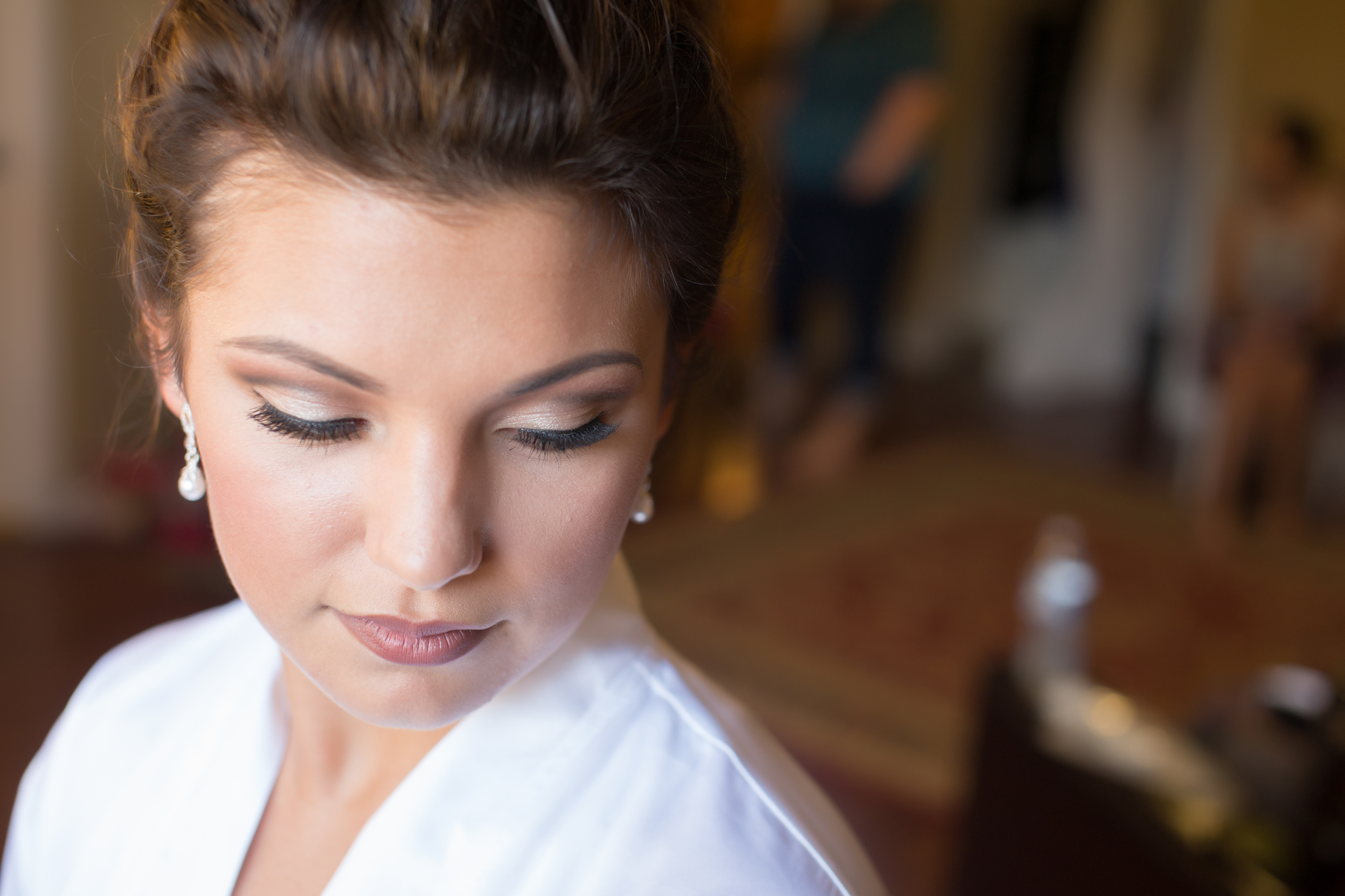 Wedding makeup by Lauren Jared